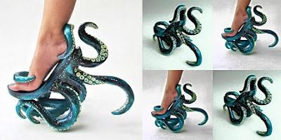 sepatu gurita