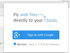 Instantly save links to Dropbox and Google Drive