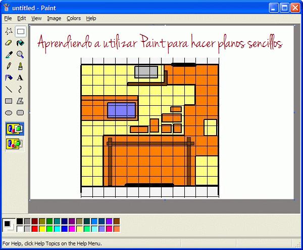 Paint un programa sencillo para hacer planos guia de jardin for Disenar jardines online gratis