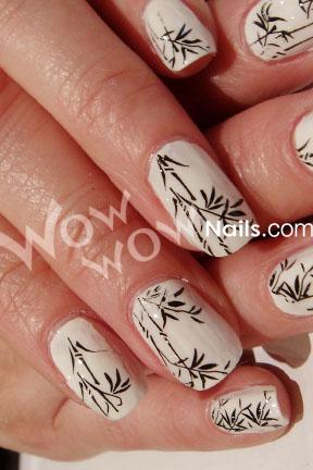 Bamboo Nails6