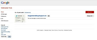 submit blog, daftar blog, cara submit blog di google, cara daftar blog di google, goole Webmaster tools, submit, daftar