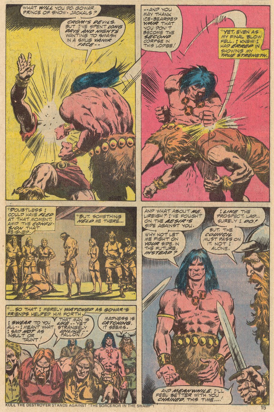 Conan the Barbarian (1970) Issue #69 #81 - English 10