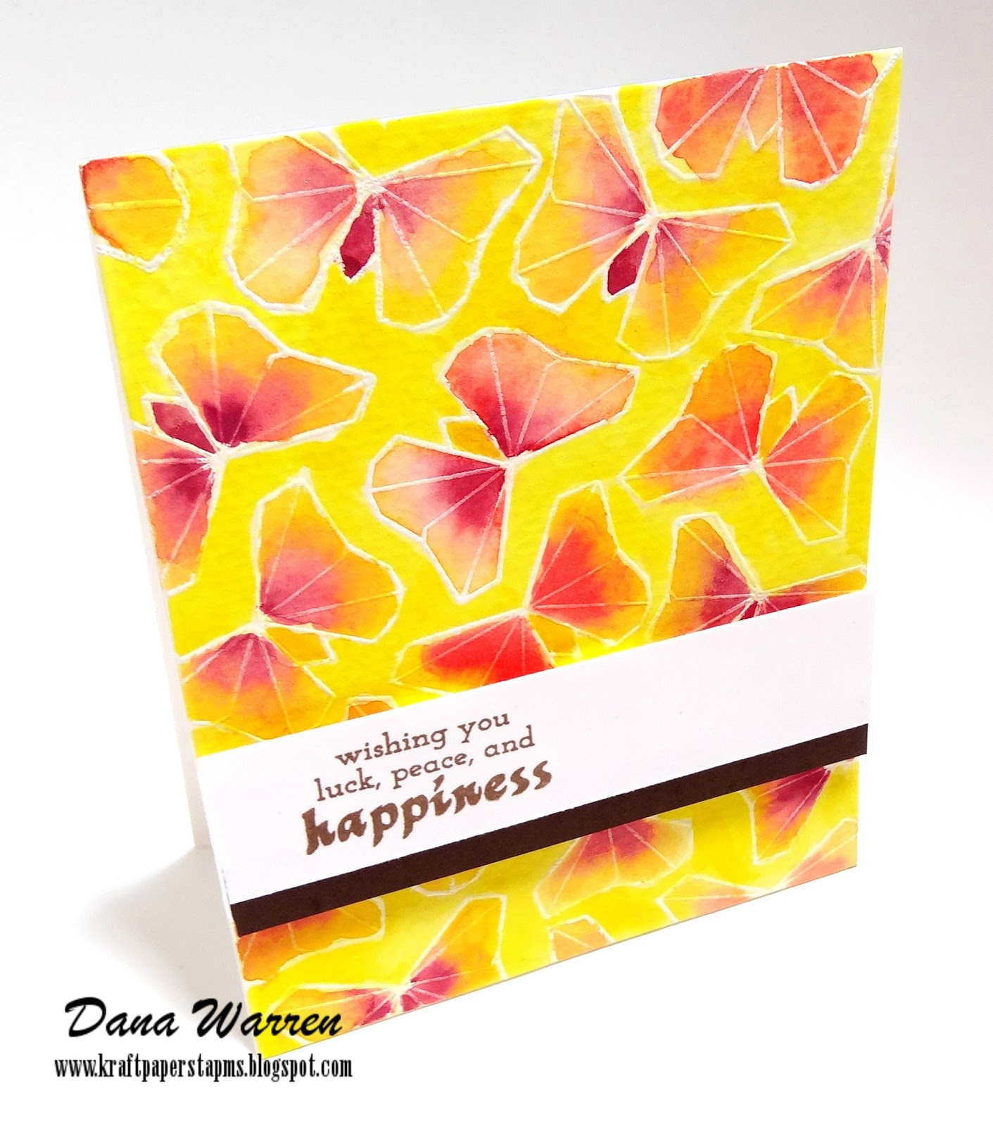 Dana Warren - Kraft Paper Stamps - Altenew