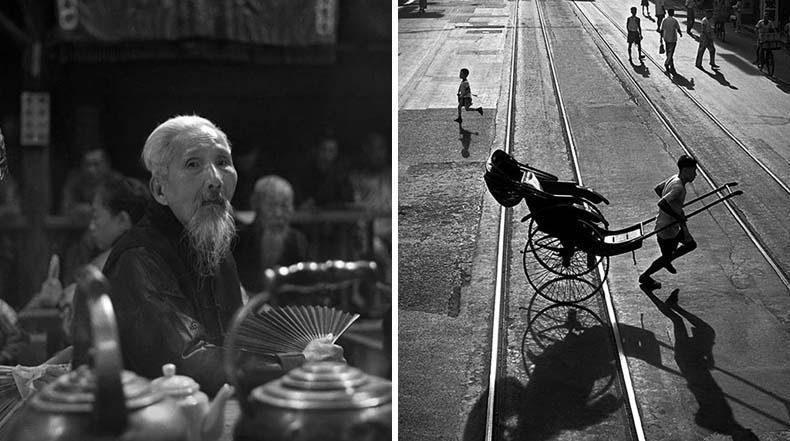 Hong Kong de 1950s capturados en fotografías urbanas por Fan Ho