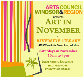 Fall Library Art Sale - Arts Council Windsor + Region