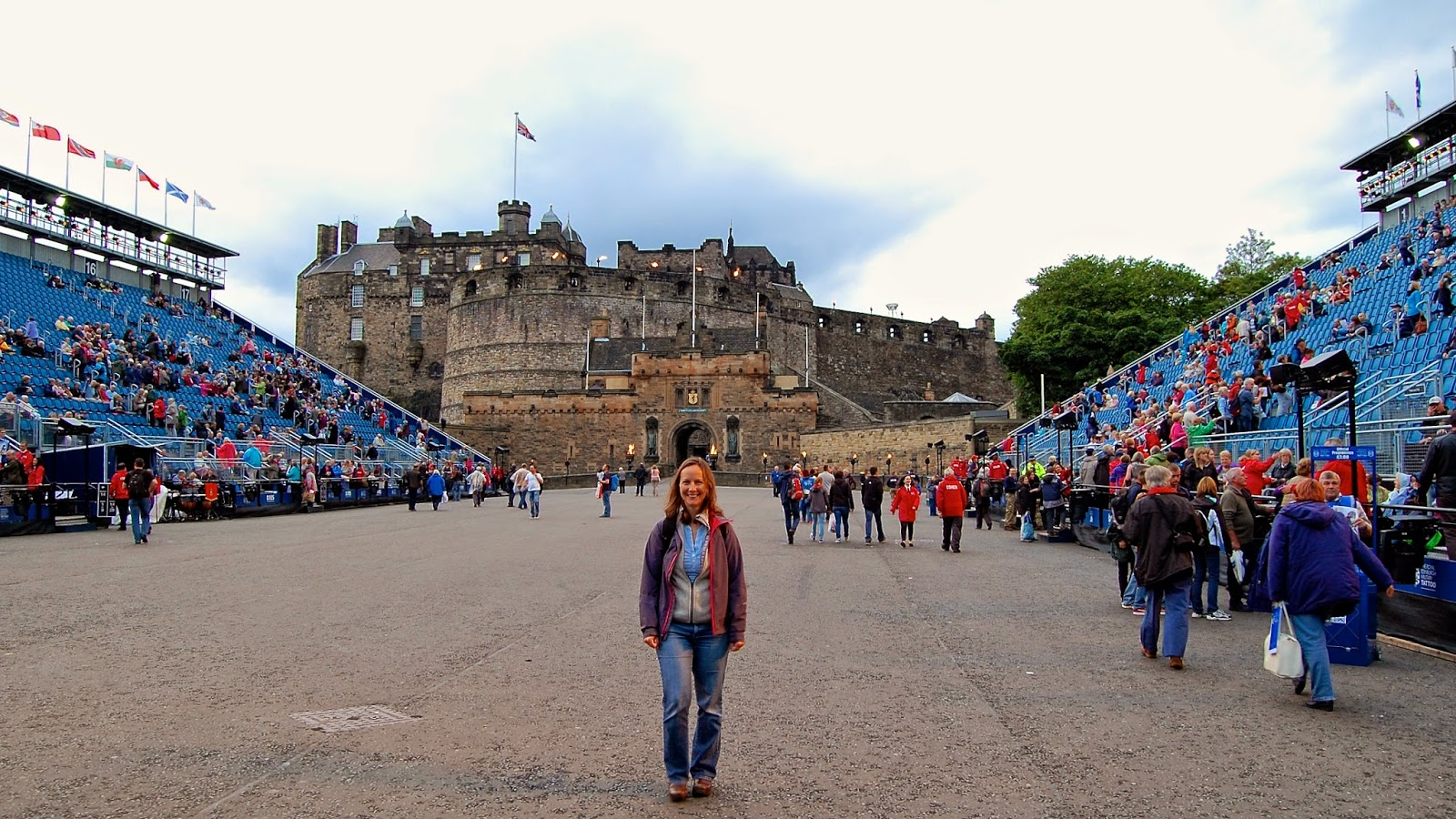 Royal Edinburgh Military Tattoo; Edinburgh Castle esplanade