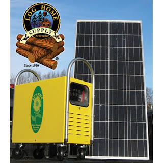 Solar Powered Generators For Log Homes