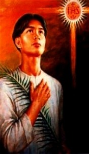 SAN PEDRO CALUNGSOD, <br> Pray for us!