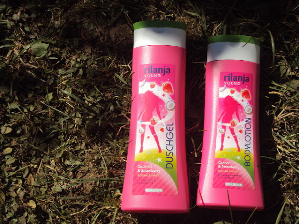 Rilanja douchegel + bodylotion.