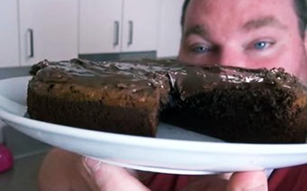 membuat cake coklat lezat hanya dengan 3 bahan