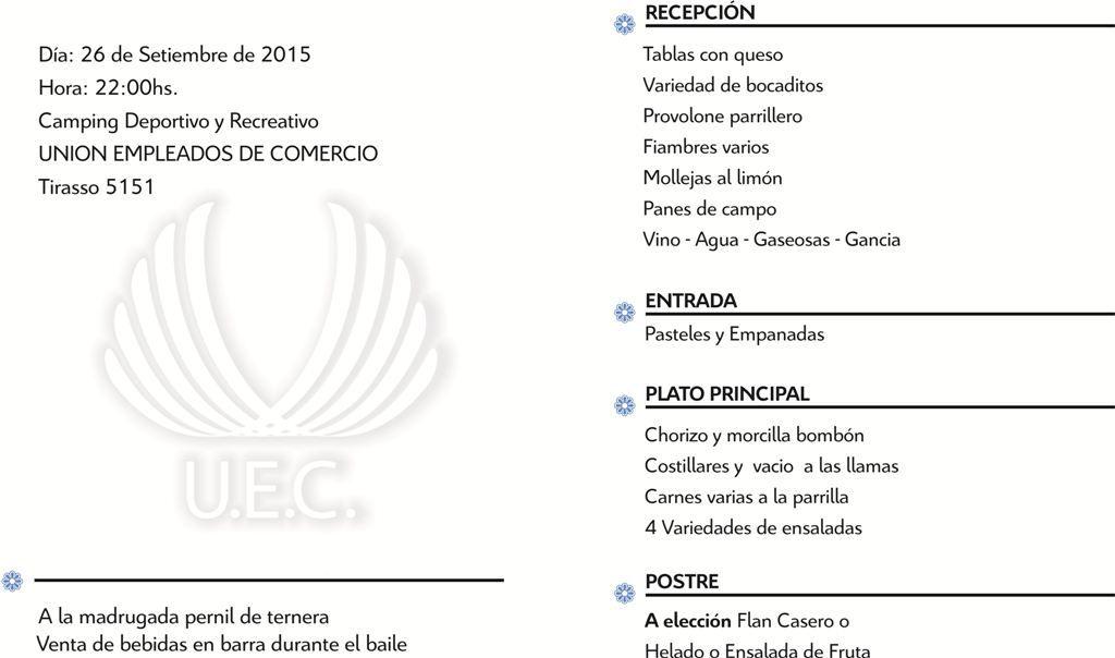 Unión Empleados de Comercio San Rafael - Las Leñas - Malargüe