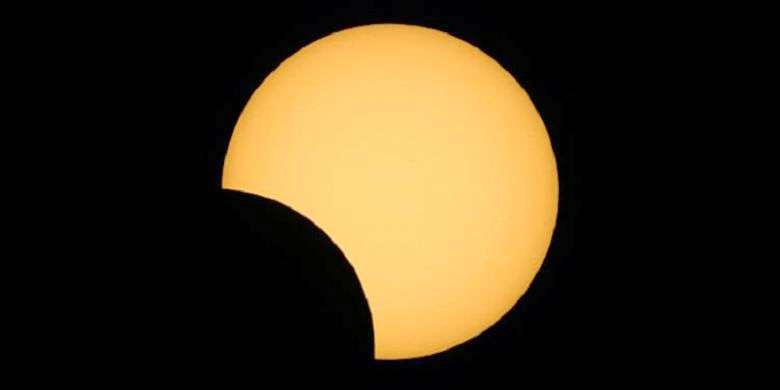 Coming eclipse occurred on Tuesday Daytime 's