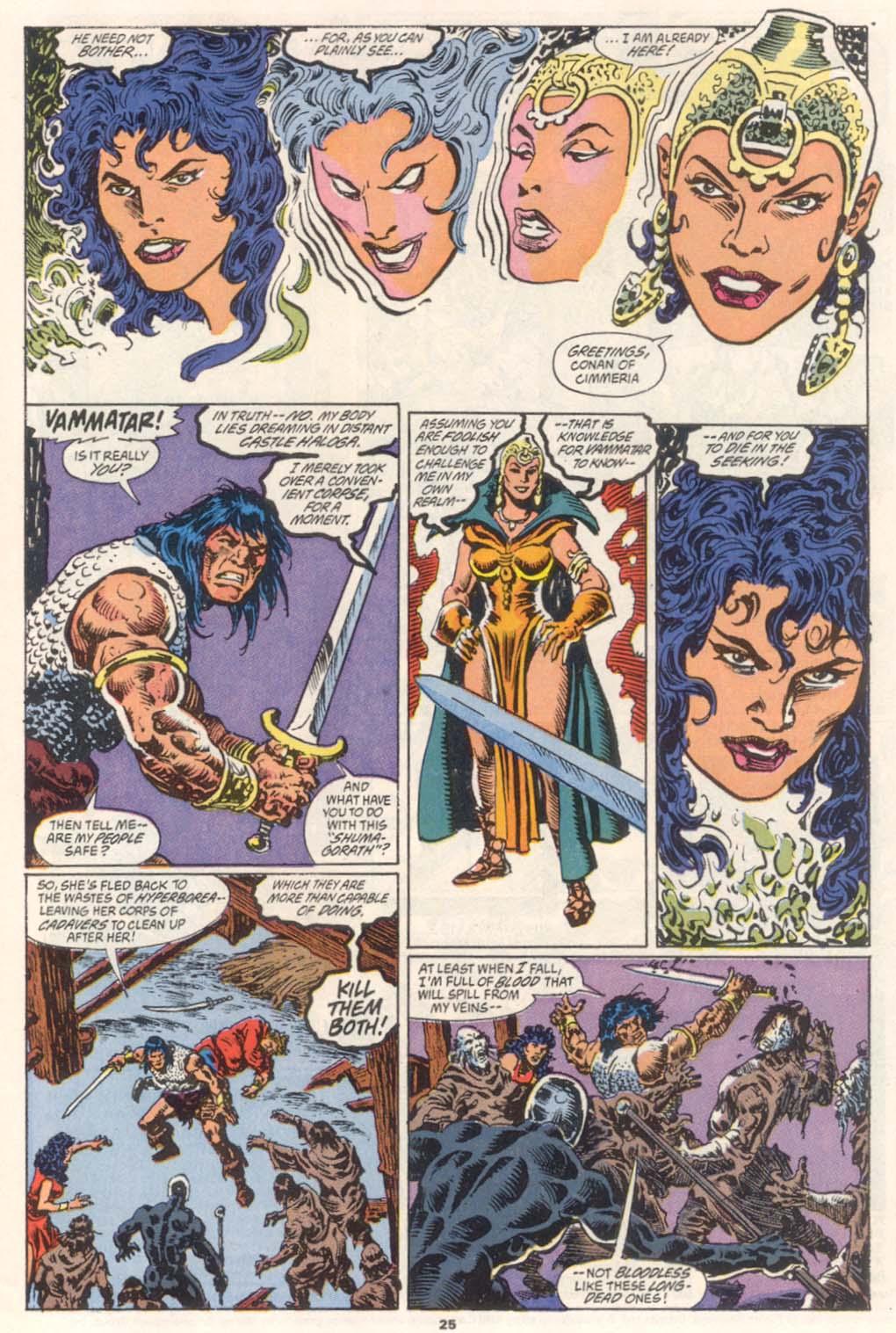Conan the Barbarian (1970) Issue #252 #264 - English 20