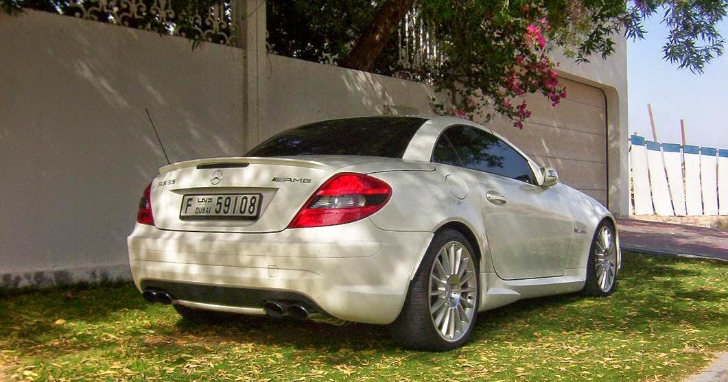 mercedes benz slk55 amg with slr engine benztuning. Black Bedroom Furniture Sets. Home Design Ideas