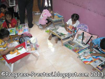 Foto Suasana Lomba Pesta Anak Kreatif - Progress Prestasi - Jombang