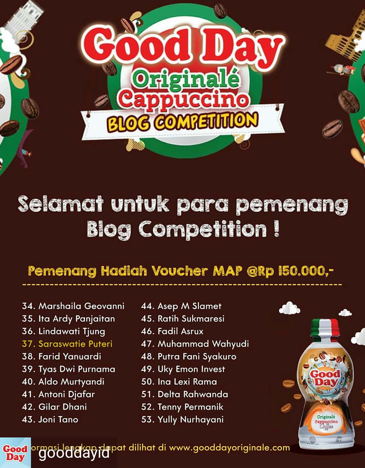 Good Day Blog Competition