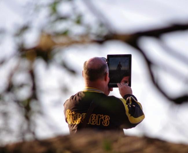 Truco tomar fotos con tu tableta