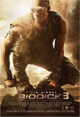 Capa Download Filme   Riddick 3 (2013) + Legenda Baixar Download
