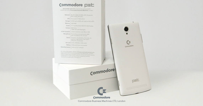 Das Commodore PET Android Smartphone