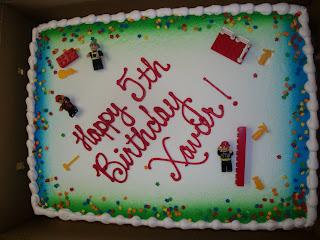 Tom and Corrines Family Blog: Happy 5th Birthday Xavier!