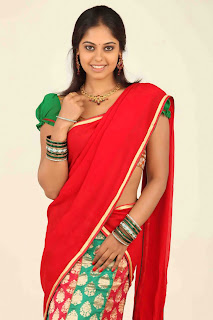 Ugadi special collection of Telugu heroine in traditional half saree