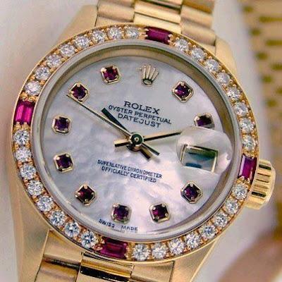 Reloj de oro Rolex - Rolex Oyster perpetual Datejust