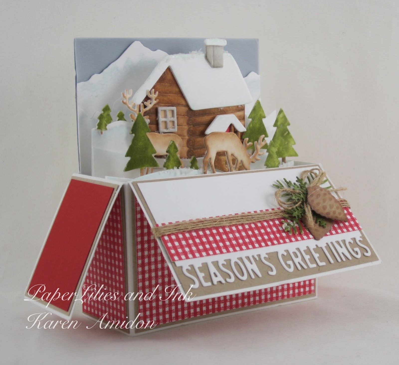 Impression Obsession Tree Landscape Layers Craft Die
