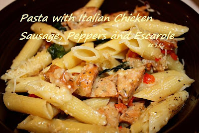 ... it Simple: Pasta with Italian Chicken Sausage, Peppers and Escarole