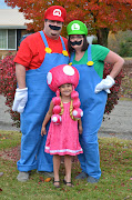 This year we finally decided on Mario, Luigi, and Toadette.