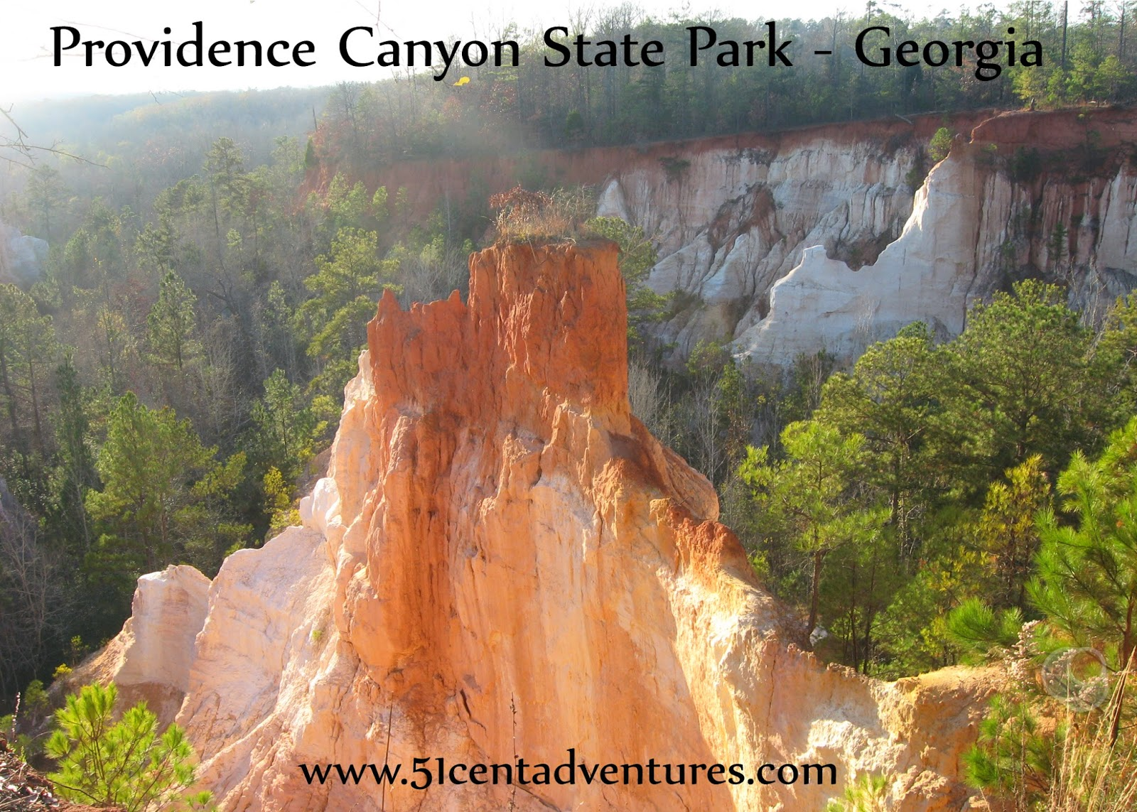 51 Cent Adventures: Providence Canyon State Park- Georgia