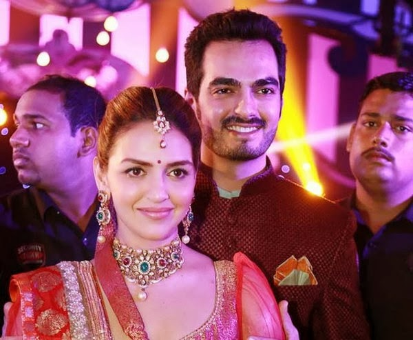 Esha Deol with bharat in marriage