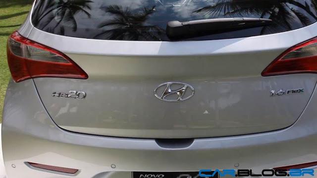 Hyundai HB-20 - traseira