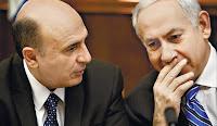 Shaul Mofaz and Benjamin Netanyahu