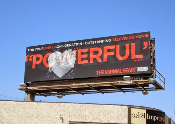 Normal Heart Powerful Emmy Consideration 2014 billboard