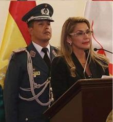 RUSIA RECONOCE A SENADORA ÁÑEZ COMO PRESIDENTA DE BOLIVIA