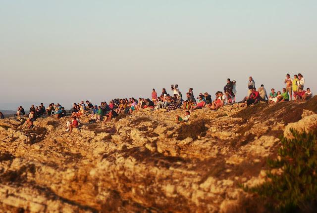 puesta de sol Cabo San Vicente