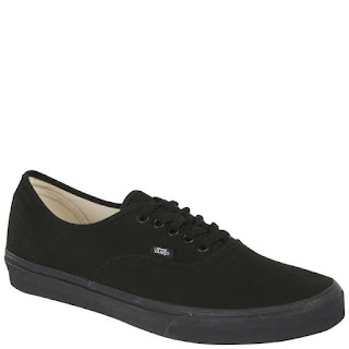 Zapatillas Vans Authentic Lienzo - Negro