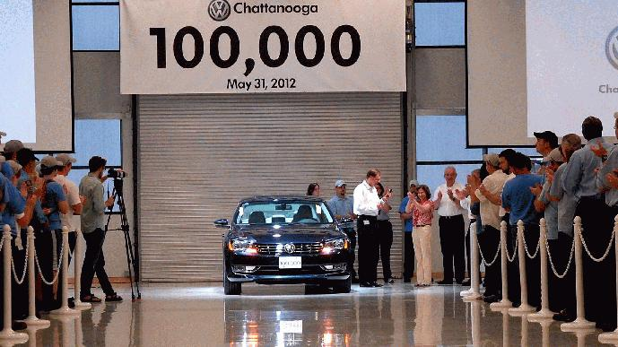 100,000th Volkswagen Passat
