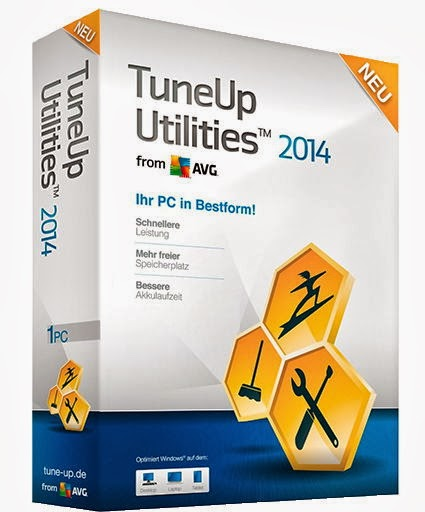 Descargar TuneUp Utilities 2014 Original Final +Serial válido