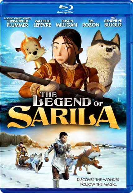 The Legend of Sarila 2013 Dual Audio BRRip 480p 250mb ESub