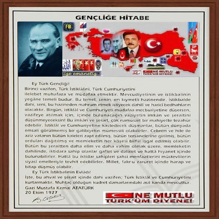 INADINA YAYIN!ULU ONDER ATATURK'UN GENCLIGE HITABESI.BUKET TURKAY,SECRETARYSHIP