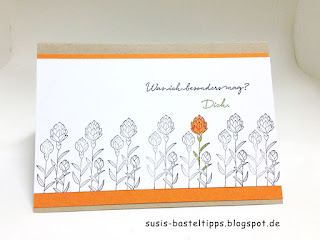 "stampin up sale a bration 2016 Karte ""Flowering Fields"" was ich mag"
