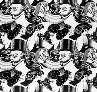 how many faces optical illusion