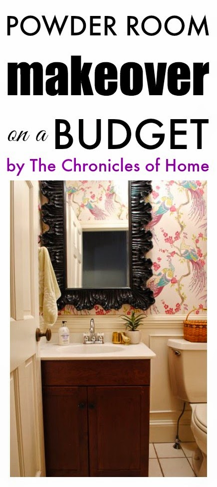 Powder Room Reveal The Chronicles Of Home
