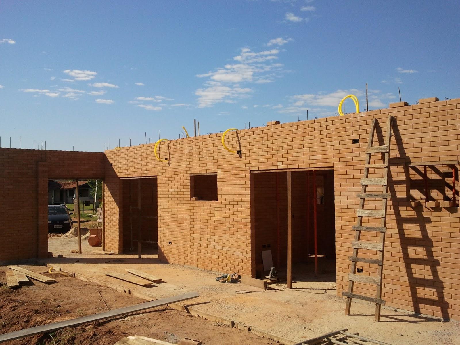 Construindo e Ampliando com Tijolo Solo cimento / Ecológico: Laje 1 #341A0E 1600x1200 Banheiro Com Tijolo Ecologico