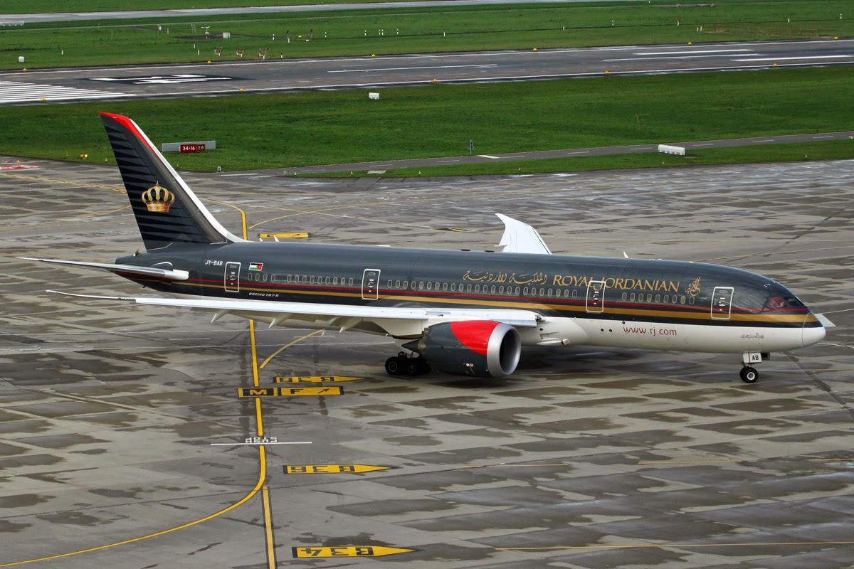 Planes and Trains Planes 2014 JY BAB Boeing 787 8 Dreamliner