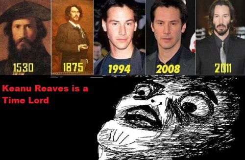 Keanu Reaves Is A Time Lord