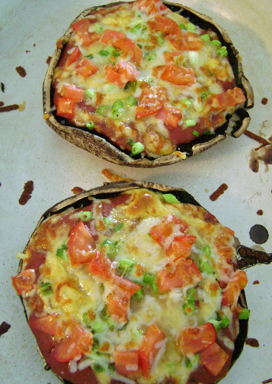Jo and Sue: Portobello Pizzas