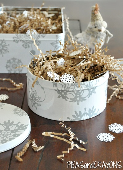 Cute ECO Snowflake Christmas Packaging