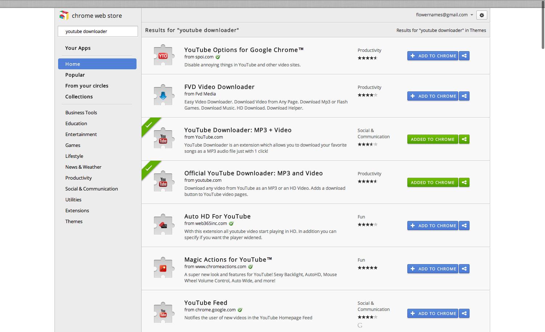 video downloader plugin for google chrome